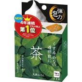 《牛乳石鹼》自然派綠茶洗顏皂(80g /個)
