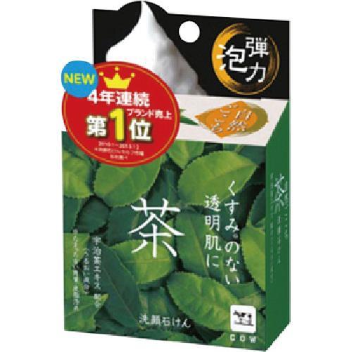 《牛乳石鹼》自然派綠茶洗顏皂80g /個(80g /個)