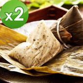 《預購-樂活e棧》素食客家粿粽子(6顆/包 ,共2包)