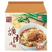 《味王》經典小館 精燉爌肉湯麵(94*4包/組)