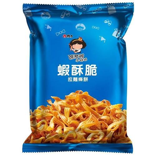 《張君雅小妹妹》蝦酥脆拉麵條餅(65g)