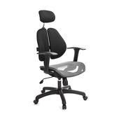 《GXG》高背網座 雙背椅 (T字扶手)  型TW-2802 EA(七色可選)