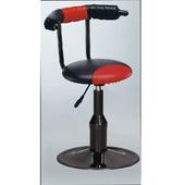 《IN 生活》法樂吧台椅(紅黑)(紅黑)