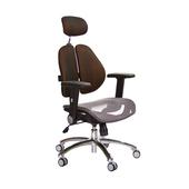 《GXG》高背網座 雙背椅 (鋁腳/摺疊升降扶手)  TW-2802 LUA1(五色可選)