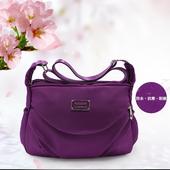 《ZHUOKU卓酷》簡約斜跨小包25*18*8cm絢麗紫 $279