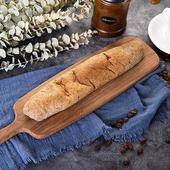 《預購-樂活e棧》微澱粉麵包系列-軟式法國長麵包(原味145g/條,共1條)