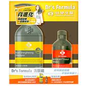 《台塑》Dr's Formula 洗髮組(髮根強化潤澤洗髮精580g+控油抗)