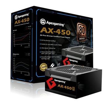 《美商艾湃 Apexgaming》AX450M 銅牌
