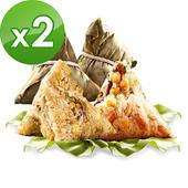 《預購-樂活e棧》南部素食土豆粽子+御品麻油猴頭菇粽子6顆/包,共2包 $1170