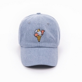 《野獸國》迪士尼經典角色系列_小飛象冰淇淋款_球帽淺藍_F $799