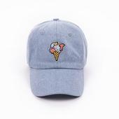《野獸國》迪士尼經典角色系列_小飛象冰淇淋款_球帽(淺藍_F)