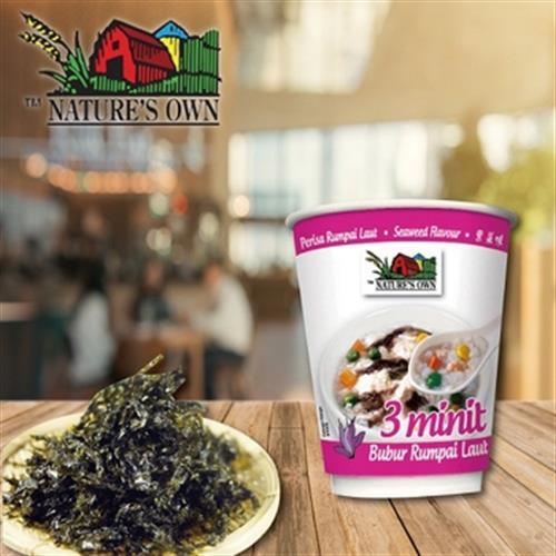 《NATURE'S OWN》速食粥-40g/杯(紫菜)