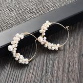 小圓公主珍珠耳環