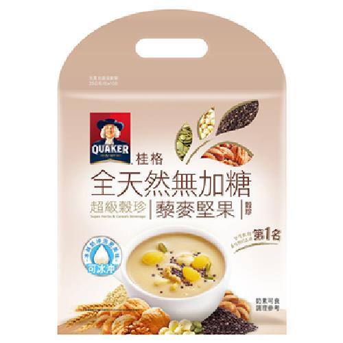 《桂格》全天然無加糖超級穀珍藜麥堅果(25g*10入)