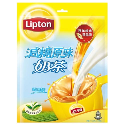 《立頓》原味奶茶量販包(減糖 20x17g/袋)