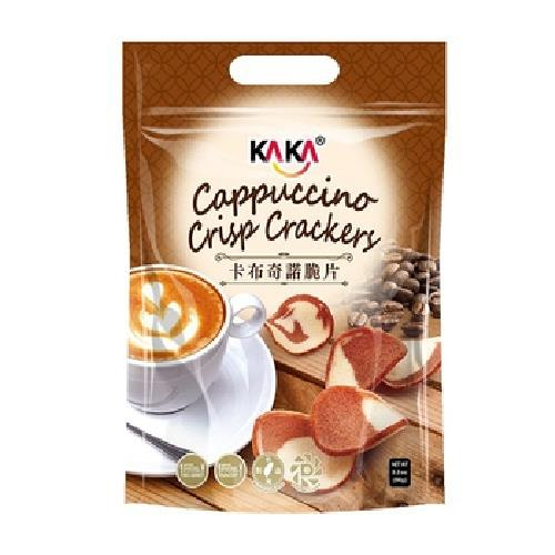《KAKA》卡布奇諾脆片(90g/包)-UUPON點數5倍送(即日起~2019-08-29)