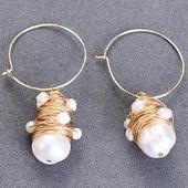 小燈燈珍珠耳環