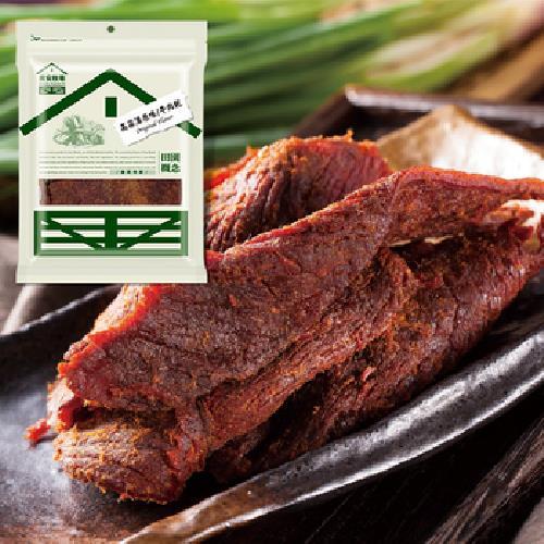 《喬安牧場》金門高粱酒牛肉乾-180g/包(原味)