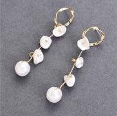 風鈴珍珠耳環