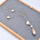 英國大笨鐘珍珠項鍊1條 $1380