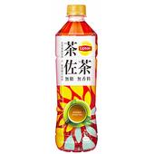 《立頓》茶佐茶無糖紅茶(535ml*4瓶/組)