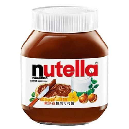 《能多益nutella》榛果可可醬(350g/罐)