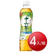 《ASAHI》十六茶(530ml*4瓶/組(無糖))