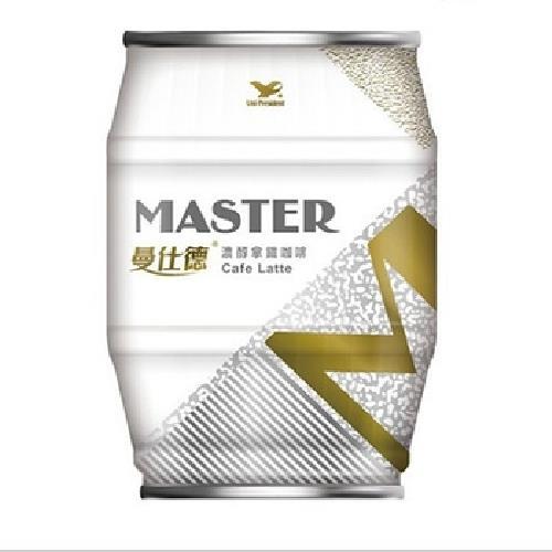 《曼仕德》濃醇拿鐵咖啡(235ml/罐)