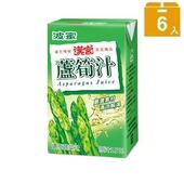 《波蜜》漢宮蘆筍汁(250ml*6包/組)