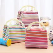 保溫提袋 便當袋  顏色隨機出貨23X17X14cm $39