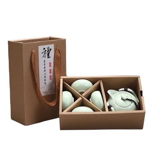 定窯品茗茶具禮盒(茶壼X1茶杯X4)-UUPON點數5倍送(即日起~2019-08-29)