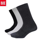 《BVD》男細針休閒襪5雙組-B223(黑*5雙)