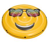 《艾可兒》Bestway日風情-笑臉陽光充氣浮排