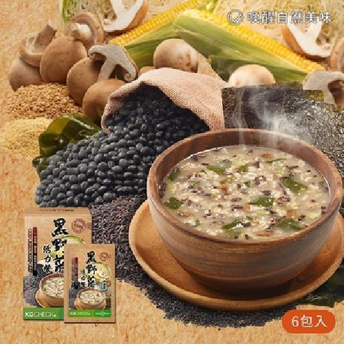 《KGCHECK》沖泡代餐-30gX6包/盒(黑野菜活力餐)UUPON點數5倍送(即日起~2019-08-29)