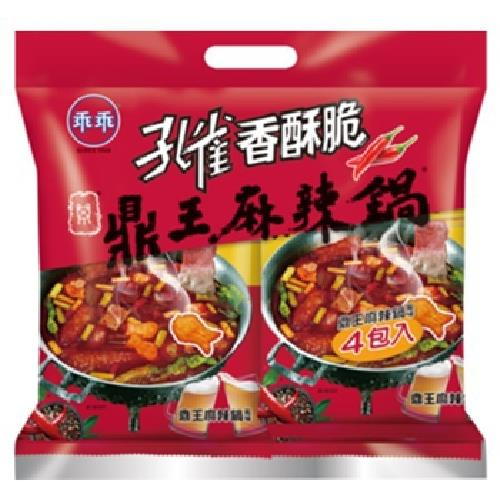 《乖乖》孔雀香酥脆 鼎王麻辣鍋(52gx4包,208g)