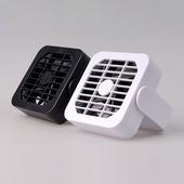 磁吸式USB小風扇 11x11x3cm(白色)