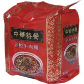 《維力》中華特餐袋麵-135g*3入/組(剁椒牛肉)