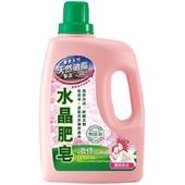 《南僑》水晶肥皂液体-櫻花百合(2.4kg/瓶)