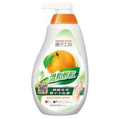 《橘子工坊》家用類溫和低敏碗盤洗滌液(650ml)