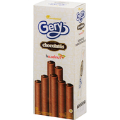 《Gery》捲心酥160g/盒(榛果巧克力味)