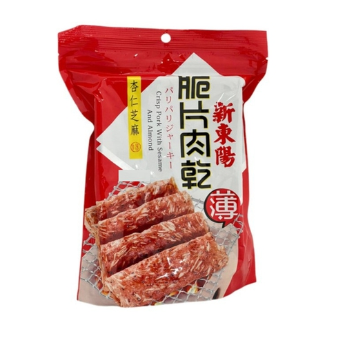 《新東陽》肉乾-75g(杏仁芝麻脆片)