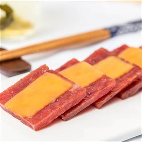 《老張鮮物》奶酪豬肉 起司豬肉乾(180g±10%/包)UUPON點數5倍送(即日起~2019-08-29)