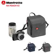 《Manfrotto曼富圖》NX Pouch V2 for CSC開拓者小型相機包(藍)贈送GT-01桌上型腳架