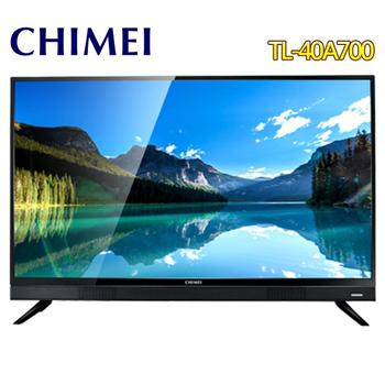 《CHIMEI 奇美》40型FHD低藍光液晶顯示器+視訊盒TL-40A700