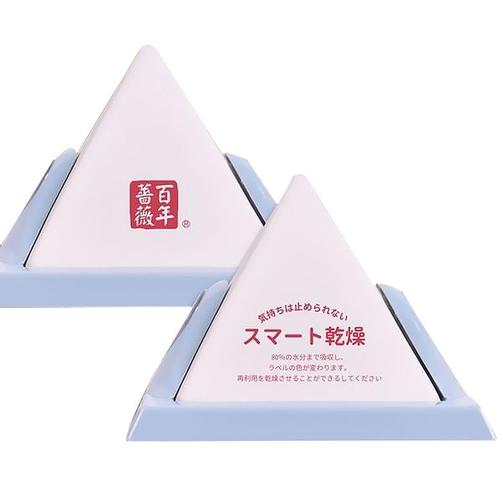 《百年薔薇》強力吸濕器珪藻土金字塔(11X11X8.5cm)