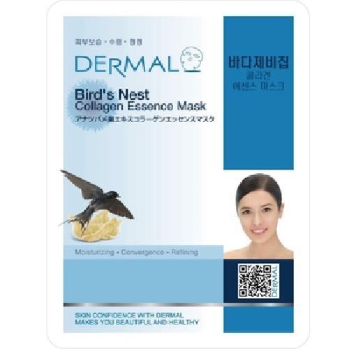 《DERMAL》燕窩補水保濕面膜(23g/包)