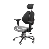 《GXG》GXG 高雙背網座 電腦椅 (鋁腳/3D升降扶手)  TW-2804 LUA9(7色可選)