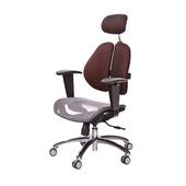 《GXG》GXG 高雙背網座 電腦椅 (鋁腳/升降鋼板扶手)  TW-2804 LUA8(7色可選)