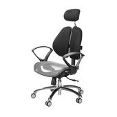 《GXG》GXG 高雙背網座 電腦椅 (鋁腳/D字扶手)  TW-2804 LUA4(7色可選)