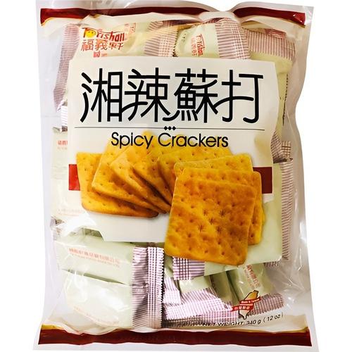 福義軒 湘辣蘇打餅(340g/袋)